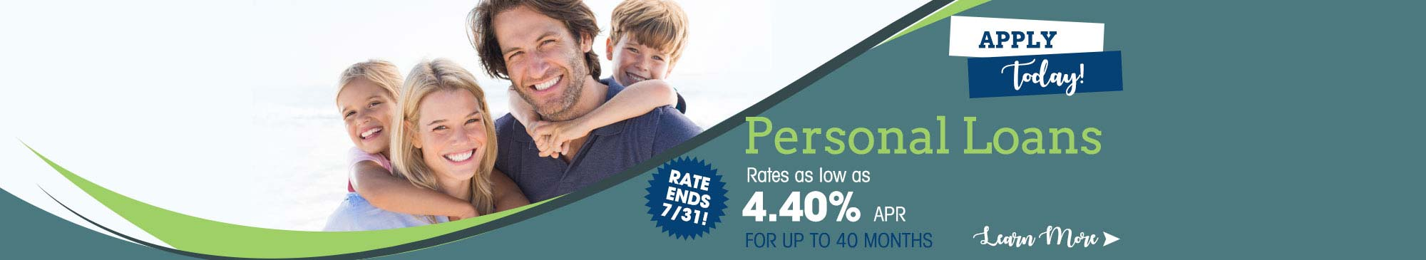 Personal Loans - as low as 4.40%